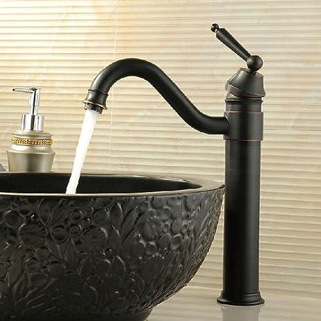 iFaucet Oil Rubbed Bronze Bathroom Vessel Sink Faucets Centerset ...