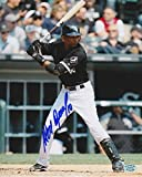 ALEXEI RAMIREZ SIGNED 8x10 CHICAGO WHITE SOX AT BAT PHOTO STACKS OF PLAQUES COA