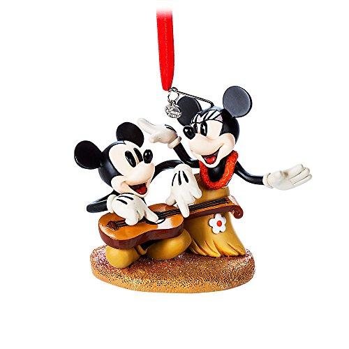 Disney Mickey and Minnie Mouse Sketchbook Ornament - Hawaiian - Hawaiian Store