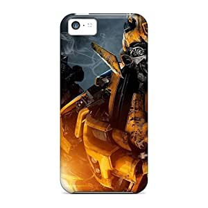 Durable Protector Cases Covers With Bumblebee In Transformers 2 Hot Design For Iphone 5c