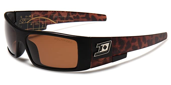b4bb48519c194 Amazon.com  Dxtreme POLARIZED Rectangular Men s Fishing Driving Hunting  Sports Sunglasses  Clothing