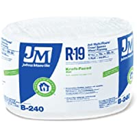 "JOHNS MANVILLE INTL 990105 15"" x 39' R-19 Kraft-Faced Roll x R, 1 piece"