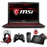 "MSI GL63 8RC-068 (i7-8750H, 16GB RAM, 128GB SATA SSD + 1TB HDD, NVIDIA GTX 1050 4GB, 15.6"" Full HD, Windows 10) Gaming Notebook"