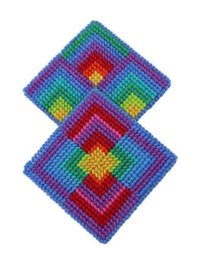 Harrisville Designs Needlepoint Coaster (Design Needlepoint Wool)