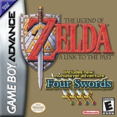 The Legend of Zelda: A Link to the Past - Four Swords & Pitfall: The Lost Expedition, Game Boy Advance Gameboy