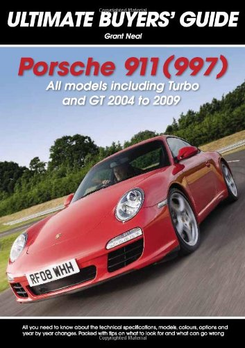 7b06b3574ae Porsche 911 (997)  All Models Including Turbo and GT 2004 to 2009 ...