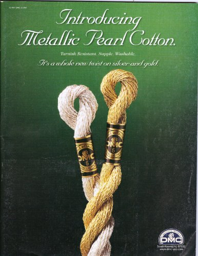 Introducing Metallic Pearl Cotton: It's a Whole New Twist on Silver and Gold (Crafts 'n Things, February 1998, Vol. 23 No. ()