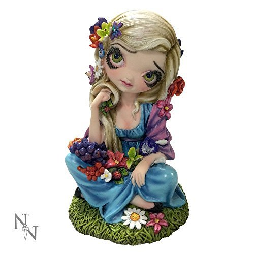 Strangeling The Art of Jasmine Becket-Griffith - Flora - 15cm - B1498D5 - New by Nemesis Now