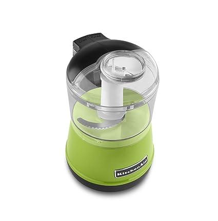 amazon com kitchenaid kfc3511ga 3 5 cup food chopper green apple