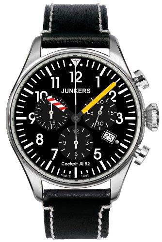Junker 6180-5 Cockpit JU52 Chronograph Watch