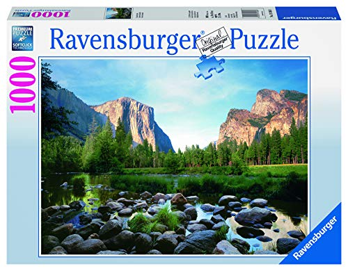 Ravensburger-Yosemite-Valley-1000-Piece-Jigsaw-Puzzle-for-Adults--Every-Piece-is-Unique-Softclick-Technology-Means-Pieces-Fit-Together-Perfectly