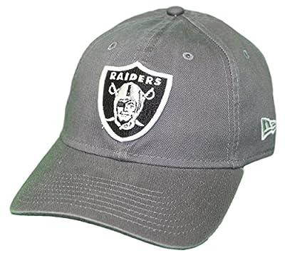 New Era Oakland Raiders NFL 9Twenty Core Classic Graphite Adjustable Hat by New Era