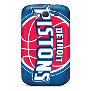 Anti-scratch And Shatterproof Detroit Pistons Phone Case For Galaxy S3/ High Quality Tpu Case
