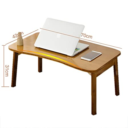 LVZAIXI Hogar Plegable Laptop Mesa de la cama Soporte de mesa ...