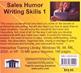 Sales Humor Writing Skills 1, Farb, Daniel and Gordon, Bruce, 1932634444