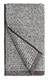 Everplush Diamond Jacquard Quick Dry Hand Towel Set, 16' x 30', Gray, 4 Piece