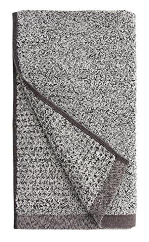 Everplush 710-01-03-72-4P Diamond Jacquard Quick Dry Hand Towel Set, 16'' x 30'', Gray by Everplush