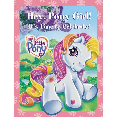 My Little Pony Invitations and Thank You Postcards,