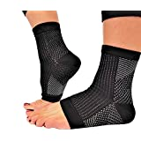 Plantar Fasciitis Ankle Compression Sleeve ! (1 pair) Compression Foot Ankle support sleeve ! Plantar Fasciitis Sock Large/X-Large