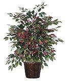 VCO 4' Artificial Potted All Natural Capensia Bush - Unlit