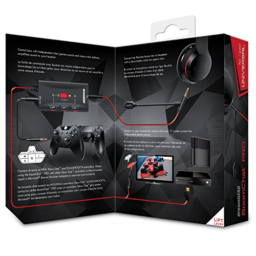 dreamGEAR - Boomchat Pro - covert music headphones into gaming headphones, includes boom mic and audio controls by dreamGEAR (Image #2)