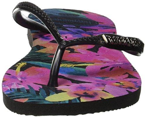 0090 Tropical Donna Multicolore Havaianas Slim black Infradito wYqntZ