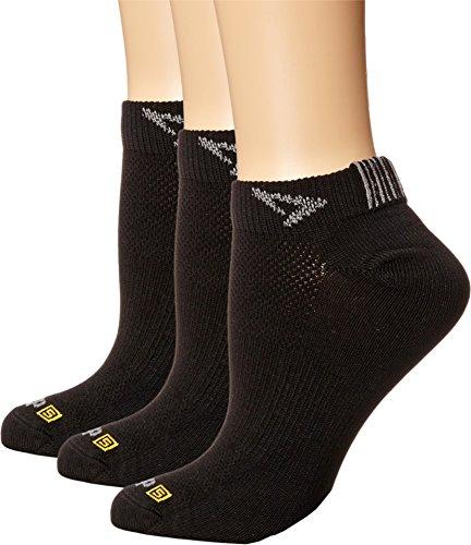 Drymax Sport Thin Run Mini Crew 3-Pair Pack Black Crew Cut Socks Shoes