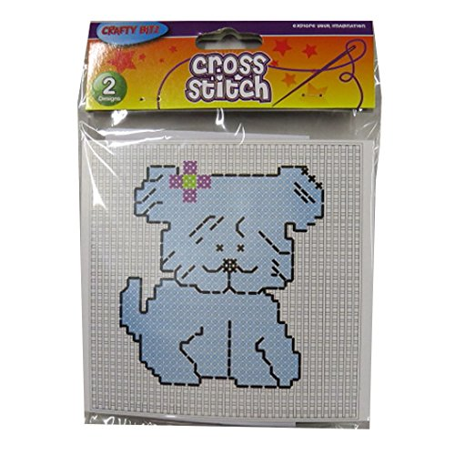 Children's Cross Stitch Starter Complete Pack - Teddy Bear a