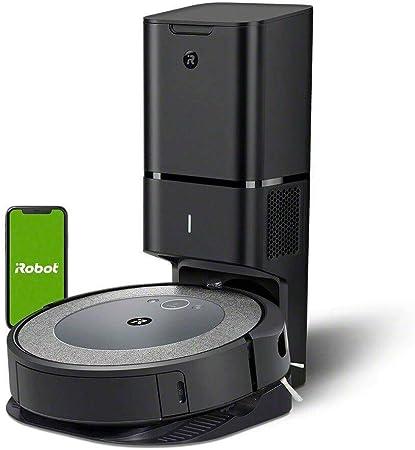 iRobot Roomba i3+ (3550) Robot Aspirador con Eliminación Automática de la Suciedad - Vacía, Ma...