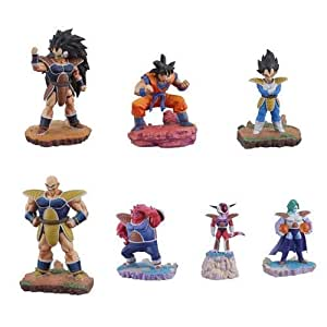 Dragon Ball Z Capsule Figures Box (Set of 7) [Toy] (japan import)