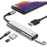 RREAKA USB C to HDMI Adapter for Samsung DeX,Desktop Experience for Galaxy S21/S20/S20 FE/Note20/Note10/TabS7/S6,DeX Station