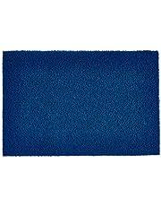 GMI Plastic PVC Noodle Floor Mat, Blue, 40x60CM -