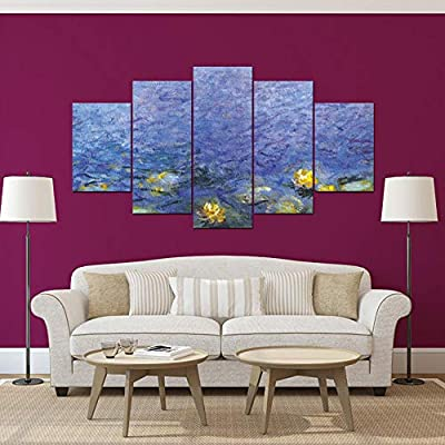 Frameless wall hanging painting abstract art wall paint DIY ...