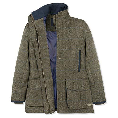 Musto - Chamarra de Tweed para Mujer Ligera Gore-Tex, Abbottsford, 16 Reg