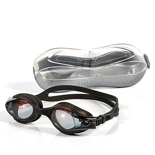 Calypso Swimming Goggles - Leak Proof, Shatterproof, UV Protection for - Triathlon Swimming Gear