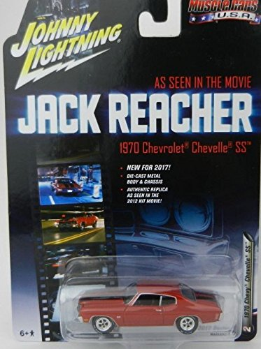 Johnny Lightning JLCP6002 1970 Chevrolet Chevelle SS Jack Reacher Movie 1/64 Diecast Model (Chevelle Diecast Model)