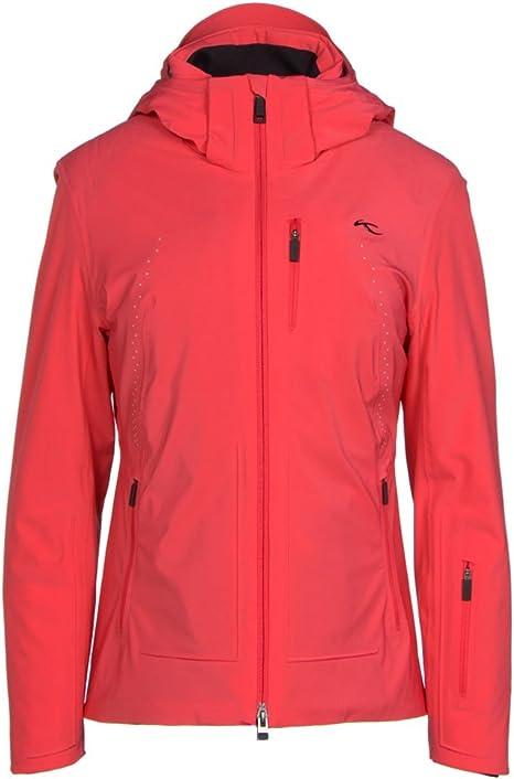 Kjus Edelweiss Women's Ski Jacket, 37700 geranium, 36 (EU