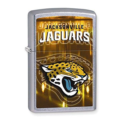 (Zippo NFL Jacksonville Jaguars Street Chrome Lighter )