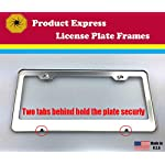 Product Express I Love My American White Shepherd Dog Cat Black License Plate Frame Tag Border 10