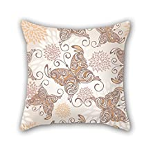 Beautifulseason Throw Pillow Covers 16 X 16 Inches / 40 By 40 Cm(twin Sides) Nice Choice For Wedding Car Seat Her Bench Birthday Teens Boys Butterfly