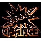 ガコッ!ジャグラーGOGOランプ風ステッカー 防水車・バイクOK ゴールド BIG-G