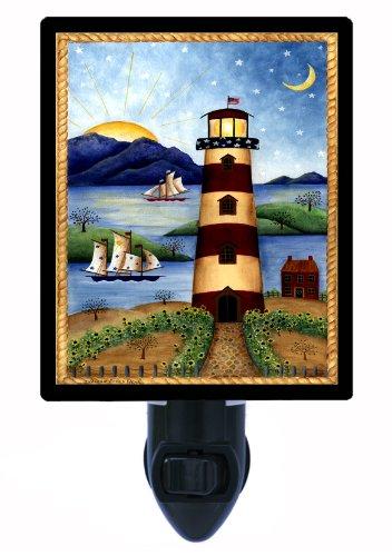 Lighthouse-Sunset-Night-Light