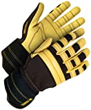 Holmes Workwear 16-1-2000-M Leather Modified Fitter Glove, Medium