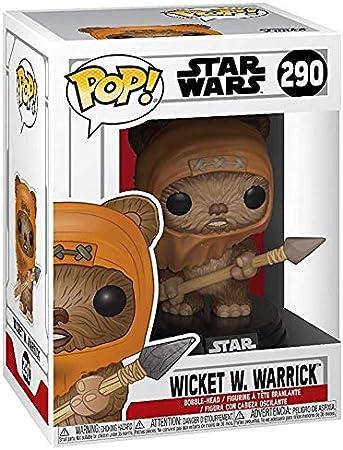 Warrick Stylized Vinyl Figure 290 Funko POP Star Wars ROTJ: Wicket W