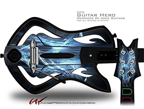 Robot Spider Web Decal Style Skin - fits Warriors Of Rock Guitar Hero Guitar (GUITAR NOT INCLUDED)