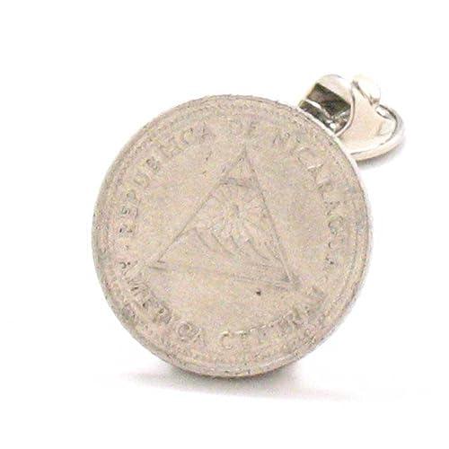 Amazon.com: Nicaragua Coin Tie Tack Lapel Pin Central ...