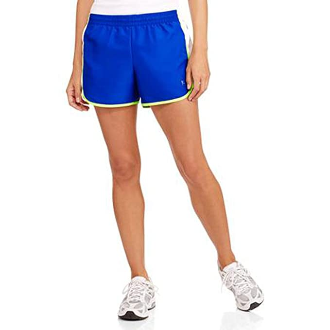 2af50874b29 Amazon.com  Danskin Now Womens Woven Running Shorts with Built-In ...