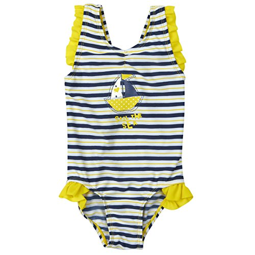 [Infant Baby Girls Nautical One Piece Swimsuit (Ages 3-18 Months) Swimming Outfit] (Girls Swimming Costumes Age 13)