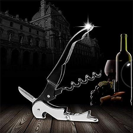 shenlanyu Sacacorchos 1pcs Tornillo De Corcho De Metal De Acero Inoxidable Multifunción Abridor De Tapa De Botella De Vino Tinto Oferta De Stock Abridor De Vino De Botella Multifunción