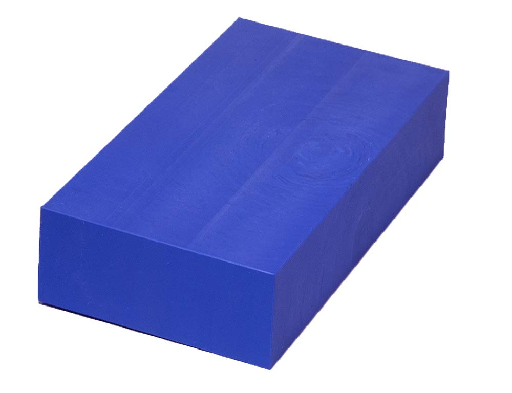ABS Plastic Rectangular Solid Navy Bar 2 x 3 x 12 Block